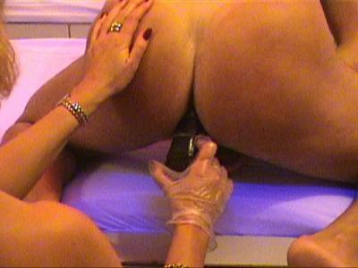 Katsumi with bleeding anus