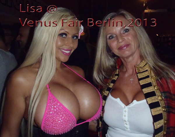 Lisa Berlins extreme sex party in las vegas with a giant strapon dildo